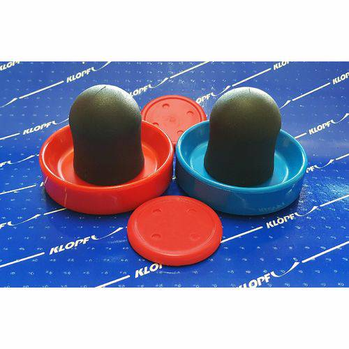 Kit de Aero Hockey Air Game Klopf 2037 - 02 Rebatedores e 02 Discos