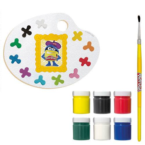 Kit de Artes - Play-doh - Meu Pequeno Artista - Fun
