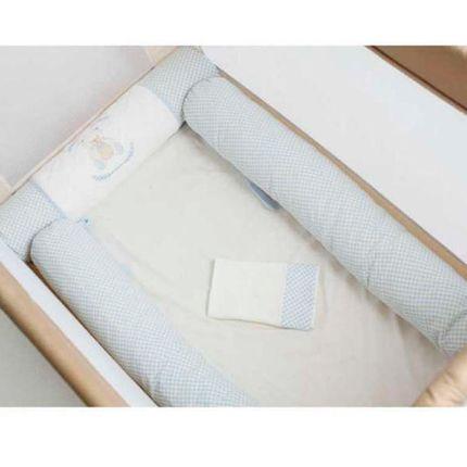 Kit de Berço 5 Peças Baby Bear - Azul - Hug