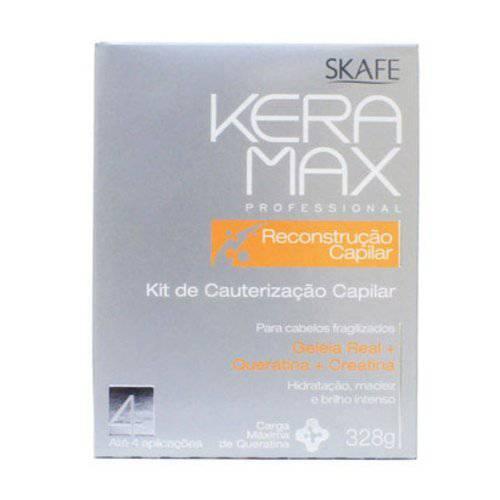Kit de Cauterização Capilar Keramax 328g