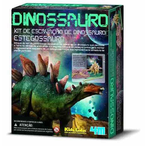 Kit de Escavação Estegossauro - 4m