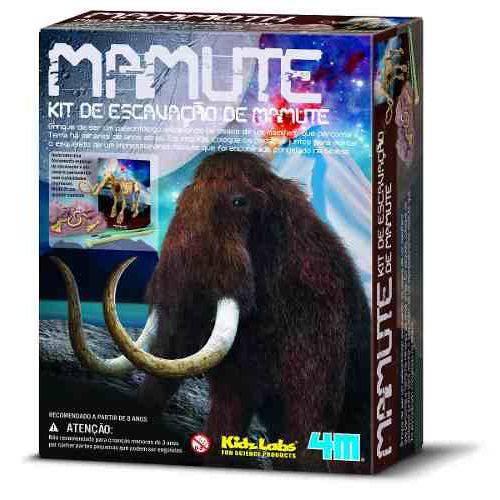Kit de Escavação - Mamute - 4m - Brinquedo Educativo