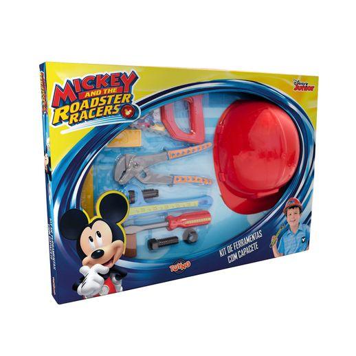 Kit de Ferramentas Mickey com Capacete Disney - Toyng