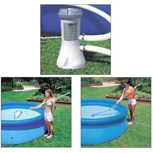 Kit de Limpeza Intex Aspirador Peneira com Bomba Filtrante 2006 LH 220v