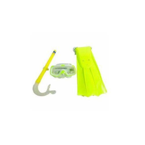 Kit de Mergulho Infantil com 3 Peças Verde