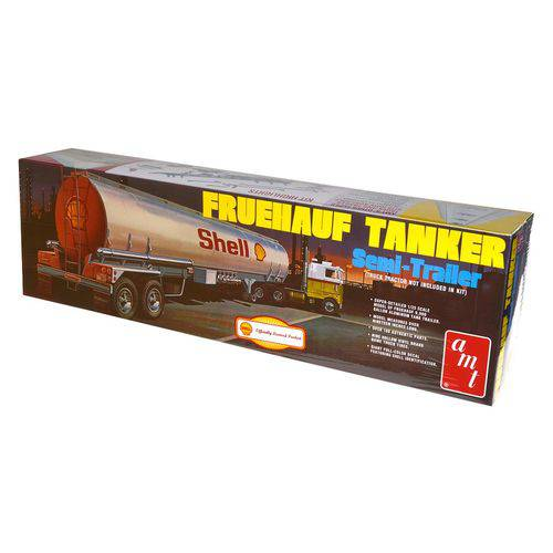 Kit de Montar Amt 1:25 Shell Fruehauf Tanker Semi Trailer