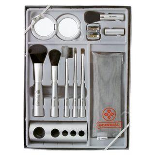 Kit de Pincéis para Maquiagem Completo - Mundial Kit