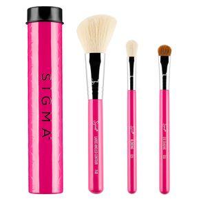 Kit de Pincéis Sigma Beauty Beauty Essential Trio Set (3 Unidades) 3un