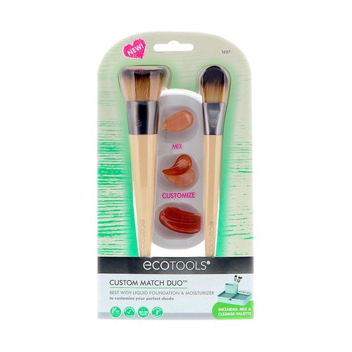 Kit de Pinceis Veganos Custom Match Duo N° 1637 – Ecotools
