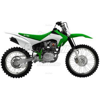 Kit de Plástico Avtec CRF 230 2015 Verde/Branco
