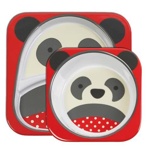 Kit de Pratos Skip Hop Zoo Panda