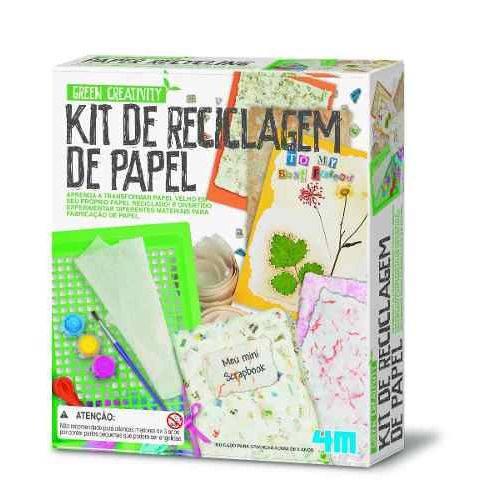 Kit de Reciclagem de Papel - 4m - Brinquedo Educativo