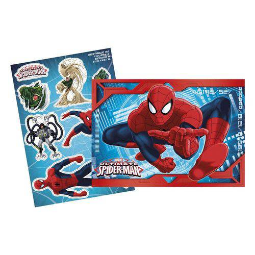 Kit Decorativo 64x45cm Ultimate Spider Man