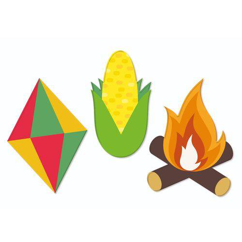 Kit Decorativo Festa Junina | Junco
