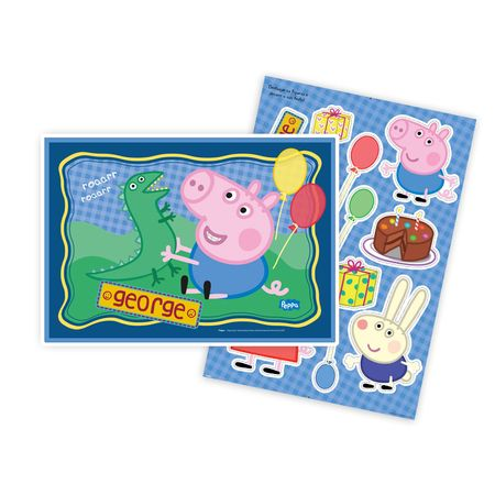 Kit Decorativo George Pig