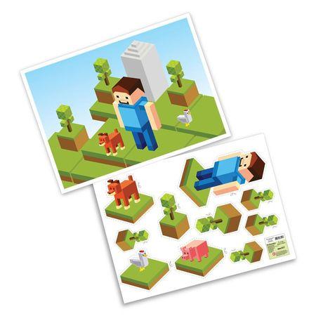 Kit Decorativo Minecraft