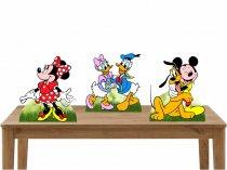 Kit 3 Displays de Mesa - Turma do Mickey