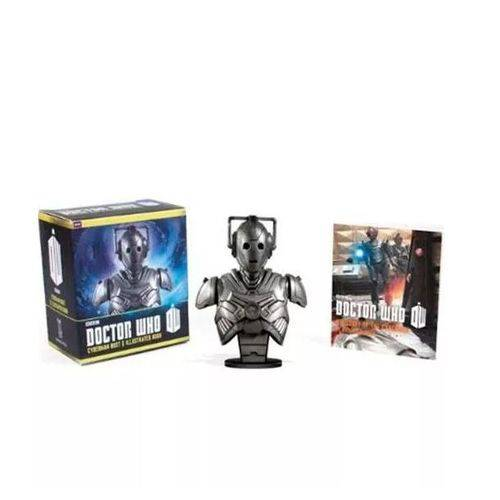 Kit Doctor Who: Cyberman Bust And Illustrated Book