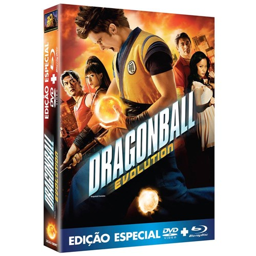 Kit: Dragonball - DVD + Blu-Ray