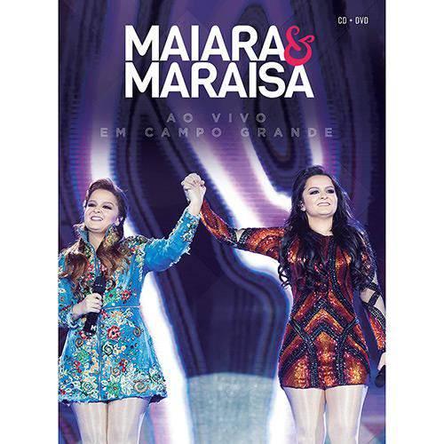 Kit Dvd+cd Maiara & Maraísa - ao Vivo em Campo Grande