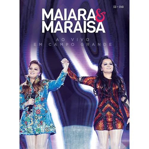 Kit DVD+CD Maraia & Maraísa - ao Vivo em Campo Grande