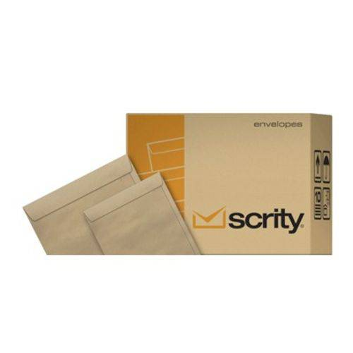 Kit Envelope Saco Kraft Natural 24x34 - com 250 Unidades