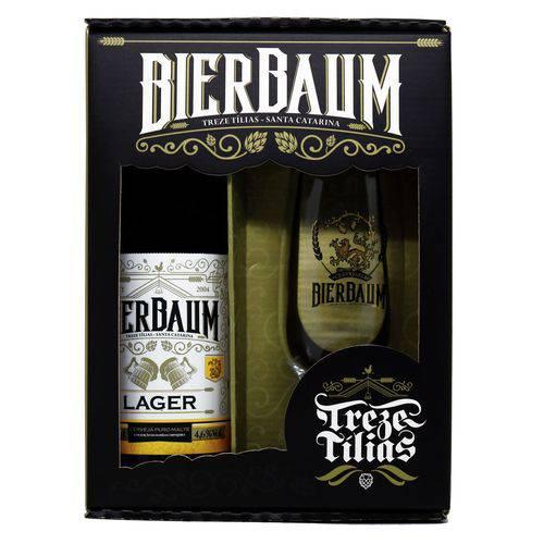 Kit Especial Colecionador de Cervejas Bierbaum Lager + Copo de Cerveja