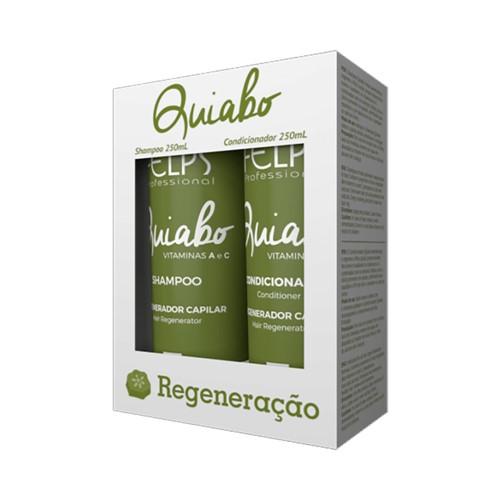 Kit Felps Shampoo + Condicionador Quiabo 250ml