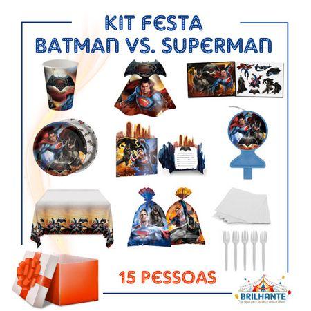 Kit Festa Batman Vs. Superman