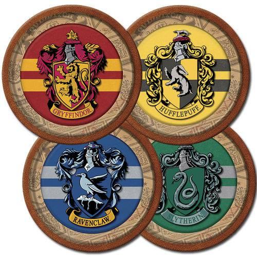 Prato de Papel Harry Potter C/8
