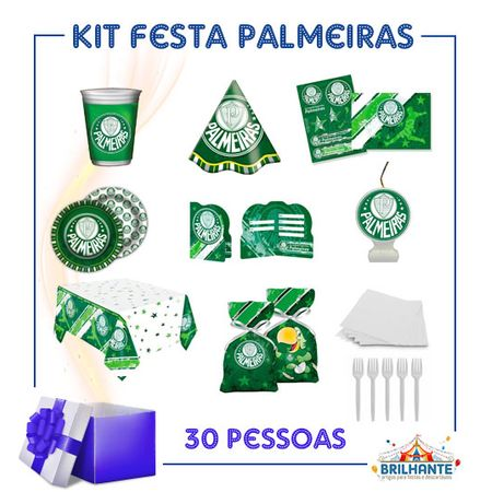 Kit Festa Palmeiras