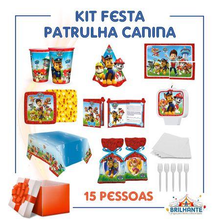 Kit Festa Patrulha Canina
