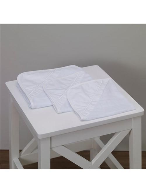 Kit 3 Fraldas Petit Básico Branco