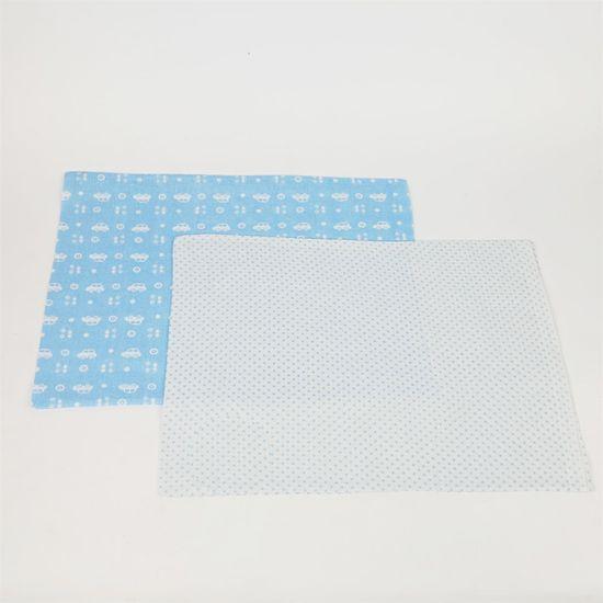 Kit Fronha Masculino Azul Claro com 2 Unidades Carrinho