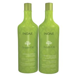 Kit Inoar Argan Oil System Duo Grande (Shampoo e Condicionador) Conjunto