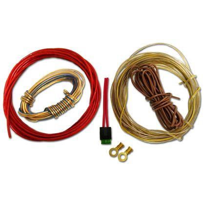 Kit Instalação Som 1 - P/ Amplificador Rádio Sem Entrada Rca