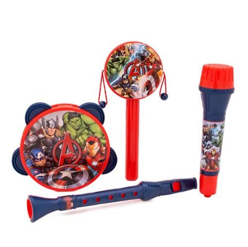 Kit Instrumentos Musicais Vingadores Toyng