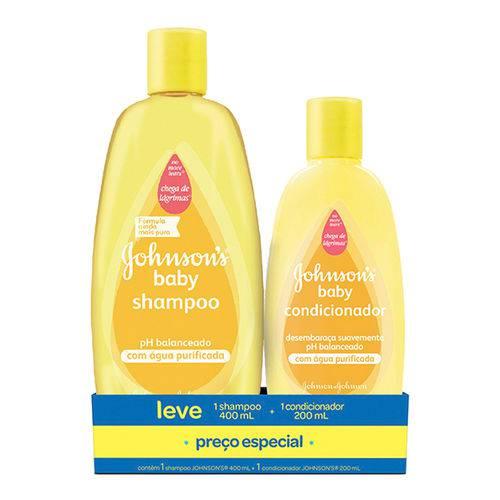 Kit Johnson's Baby Shampoo 400ml + Condicionador 200ml