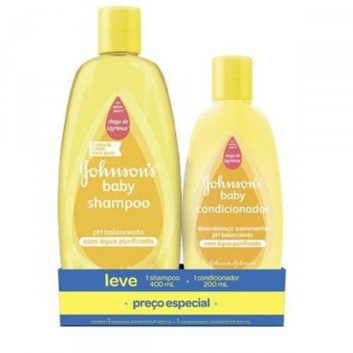 Kit Johnsons Baby Ph Balanceado Shampoo + Condicionador