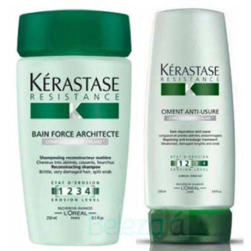 Kit Kérastase Resistance Architecte Shampoo + Condicionador