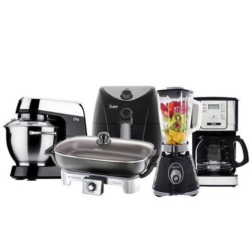 Kit Kitchen Completo Black Oster 220v