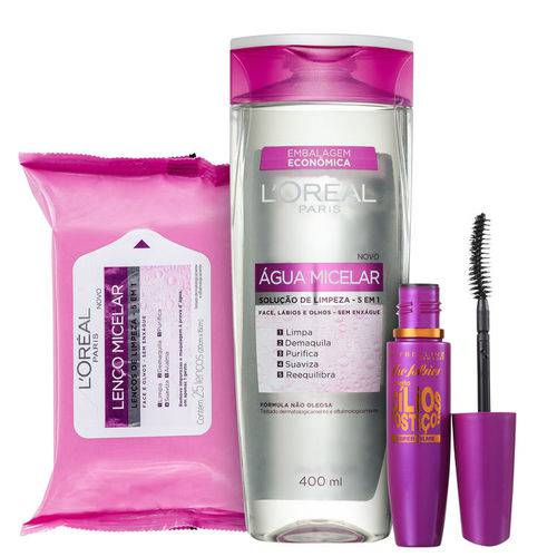 Kit L'Oréal Paris Expertise The Falsies Micelar (3 Produtos)