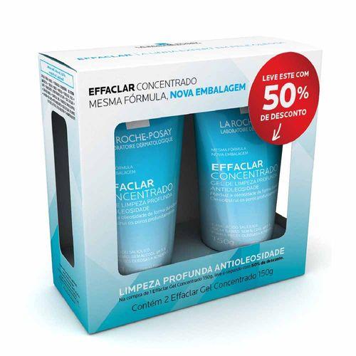 Kit La Roche-Posay Gel de Limpeza Facial Effaclar Concentrado 150g 2 Unidades