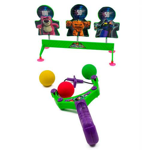 Kit Lançador de Bolas Toyng