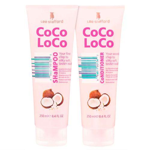 Kit Lee Stafford Coco Loco Shampoo 250ml + Condicionador 250ml