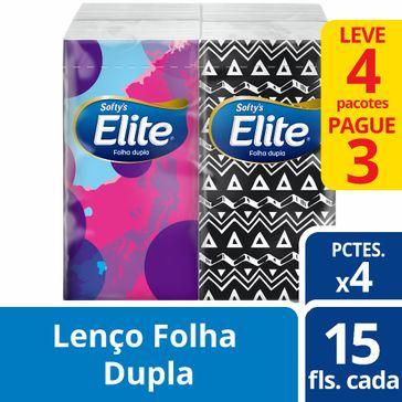 Kit Lenços de Papel Dualette de Bolso Softy's 1 Unidade