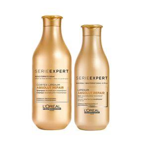 Kit L'Oréal Professionnel Absolut Repair - Shampoo 300ml + Condicionador 300ml