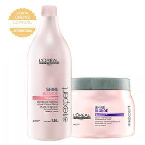 Kit L'Oréal Professionnel Expert Shine Blonde (Shampoo e Condicionador) Conjunto