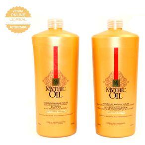 Kit L'Oréal Professionnel Mythic Oil (Shampoo e Máscara) Conjunto