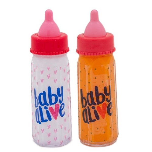 Kit 2 Mamadeiras Mágicas Baby Alive Toyng